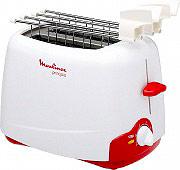 Moulinex TT1200 Tostapane per Toast 2 Fette 540W 10 Livelli cottura Principio