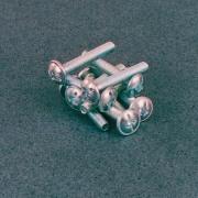 Muller 31004040 Viti Per Pomoli T.B.Larga Combi M4x40 Zincate Pezzi 500