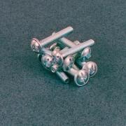 Muller BLGHU1462 Viti Per Pomoli T.B.Larga Combi M4x25 Zincate Pezzi 500