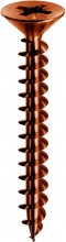 Mustad PVACZP601200BZC Vite Panelvit Tsp Ferro Bronzato mm 6X120 Cf 100 Pz