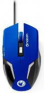 NACON Mouse Ottico USB con Rotella 2400 DPI Nero, Blu - PCGM-105BLUE GM-105