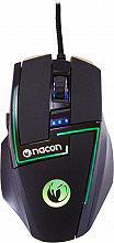 NACON Mouse Gaming USB Laser colore Nero Retroilluminazione Multicolor - GM-350L