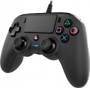 NACON PS4OFCPADBLACK Controller PS4 Joystick PlayStation 4 colore nero