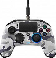 NACON Controller Playstation 4 colore Grigio - PS4OFPADREVCAMOGREY