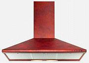 NARDI Cappa Cucina Aspirante a Parete 90 cm x 49 cm Rame - NCA 49 01 R