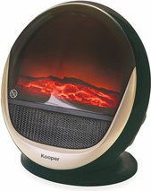 NBrand 2194406 Camino Caminetto elettrico effetto fiamma Potenza 1500 Watt