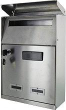 NBrand 2500ITAI Cassetta Postale in Acciaio 210x85x330 h colore Inox