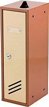 NBrand Cassia Cassetta Postale in Acciaio 125x160x375 h colore Beige