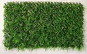NBrand Fern Trellis Arella con steccato + Erba sempreverde dimensione 1 x 2 mt