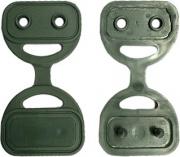 NBrand GRE200 green Bottons per Teloni Ombreggianti Pezzi 250