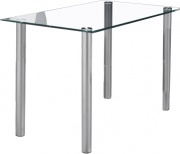 NBrand HW58600-12 Tavolo Vetro  metallo 115x70x75h cm  Simply