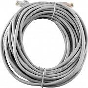 NBrand LAN_UTP_20MT Cavo LAN Prolunga Rete UTP 2 x RJ45 maschio colore Grigio lunghezza 20 mt