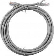 NBrand LAN_UTP_3MT Cavo LAN Prolunga Rete UTP 2 x RJ45 maschio colore Grigio lunghezza 3 mt