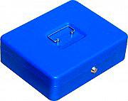 NBrand PValori Cassetta Porta Valori in Metallo con Chiave dimensioni 30 X 24 X 9 H cm