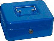 NBrand PValori Cassetta Porta Valori in Metallo con Chiave dim 15,2 X 11,5 X 8 H cm