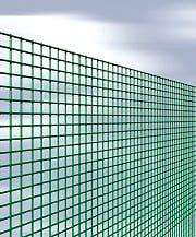 NBrand Quadraplast Rete Recinzione Elettrosaldata Metallica Plastificata 6x6 mm h 60cm 25 mt