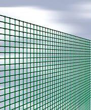 NBrand Quadraplast Rete Recinzione Elettrosaldata Metallica Plastificata 12x12mm h50cm 25 mt