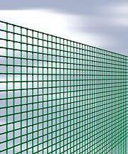 NBrand Quadraplast Rete Recinzione Elettrosaldata Metallica Plastificata 12x12 h 150cm 25 mt