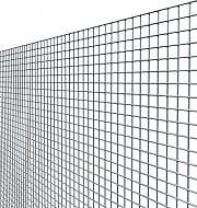 NBrand Quadrazinc Rete Recinzione Elettrosaldata Metallica Zincata 8.3x8.3 mm h 100cm 25 mt