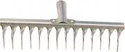 NBrand R108-14T 345.14 Rastrello Aereatore Zincato 14 Denti