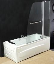 NBrand SN960 Porta doccia Parete doccia fissa Cabina Box Vasca 120x140h cm