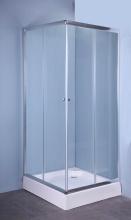 NBrand SP620 Box doccia 80x80 cm Cabina doccia Cristallo Altezza 185 cm  Iglo