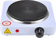 NBrand forn_ele_1000 Fornello Elettrico 1 Piastra potenza 1000 Watt con termostato