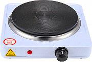 NBrand forn_ele_1500 Fornello Elettrico 1 Piastra potenza 1500 Watt con termostato