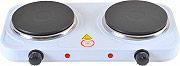 NBrand forn_ele_2000 Fornello Elettrico 2 Piastre potenza 2000 Watt con termostato