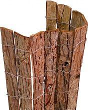 NBrand frangi_cortec Rete ombreggiante Frangiavista in Corteccia Naturale dim. 100 x 300 cm