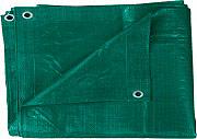 NBrand telo_10x12 Telo Occhiellato Impermeabile 110g Mq 9.40x11.70 metri colore Verde