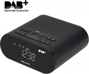 NEW MAJESTIC 119116 Radiosveglia Digitale DAB Radio USB Nero  RS-116 DAB