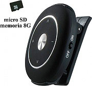 NEW MAJESTIC 118319 Lettore Mp3 con pinza Memoria Micro SD 8 Gb Nero - SDB-8319