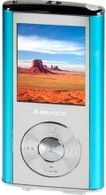 NEW MAJESTIC 124357 Lettore Mp3 Mp4 4Gb USB Lettore MicroSD Blu  SDA-4357R