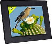 NEW MAJESTIC Cornice digitale 10 portafoto Touch Video MPEG4 USB DF-810 HD MP3