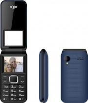 "NEW MAJESTIC 300086 Telefono Cellulare a Conchiglia 1.77"" Bluetooth Blu Flap"