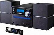 NEW MAJESTIC Sistema Micro Hi-Fi CD Mp3 WMA USBAUXJack 3.5 mm FM Nero AH-2336