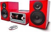 NEW MAJESTIC AH-2349 HP Micro Hi Fi Bluetooth 100 W Lettore CDMp3 Radio FM
