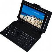 """NEW MAJESTIC Cover custodia universale con tastiera per tablet da 6"""" e 7"""" CUS-177"""