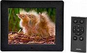"""NEW MAJESTIC Cornice digitale portafoto LCD 8"""" Lettore schede USB DF-938MP3"""