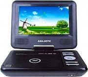 "NEW MAJESTIC Lettore DVD DVX portatile 7"" USBSD Telecom. 100166 DVX-166 USBSD"