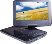 "NEW MAJESTIC DVX180USB Lettore DVD portatile Display LCD 9"" USB e SD MMC - DVX-180 USB SD"