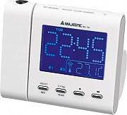 NEW MAJESTIC Radiosveglia digitale FM temperaturaora allarme  RS-130W 109130