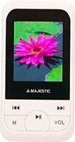 "NEW MAJESTIC Lettore MP4MP3 portatile 8 GB 1.8"" LCD FM USB 2.0 SDA-8071 WH"
