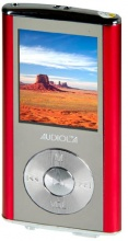 NEW MAJESTIC SDA-8458N Lettore Mp3 Mp4 Radio FM Jack 3.5 mm USB Rosso