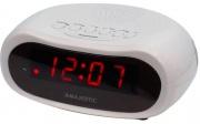 NEW MAJESTIC SVE-232 Sveglia Digitale LED Funzione Snooze Bianco 119132