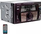 NEW MAJESTIC Autoradio 180W Mp3WMA Radio FM SDMMC AUX Bluetooth USB - SV-515
