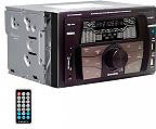 NEW MAJESTIC Autoradio 180W Mp3WMA Radio FM SDMMC AUX Bluetooth USB - SV-515