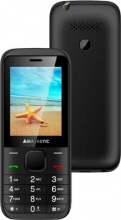 "NEW MAJESTIC TLF-LUCKY 56 Telefono Cellulare DUAL SIM 2.4"" 32 Gb Bluetooth Nero"