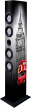 NEW MAJESTIC TS-84R BT USB SD AX Cassa Bluetooth Torre Multimediale 60 Watt